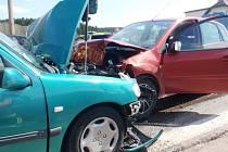 Dopravní nehoda na silnici I/16