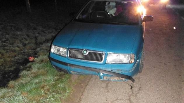 Dopravní nehoda v Úlibicích
