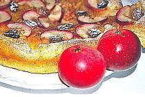 Jablečný koláč.