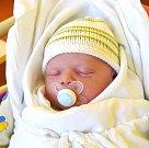 MATYÁŠ HLADÍK se narodil 3. ledna s porodní mírou 50 cm a váhou 3,50 kg. Radost dělá mamince Kristýně Messnerové a tatínkovi Davidovi Hladíkovi. Doma v Robousích se na Matyáška těšil bratříček Tadeáš.