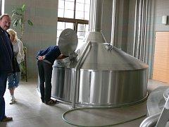 Ilustrační foto - exkurze v pivovaru.