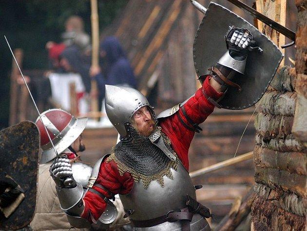 Gotická bitva v Radvánovicích u Turnova.