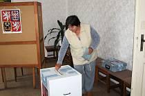 Volby v Úlibicích.