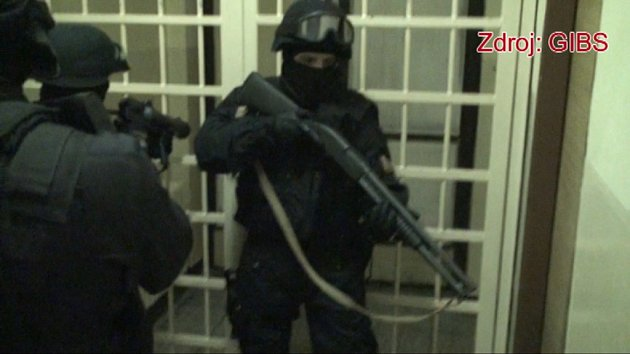 Kontrola ve valdické věznici.