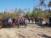 Dřevěnici obsadili orientační běžci.