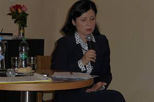 Eurokomisařka Věra Jourová přijela na besedu do Jičína.