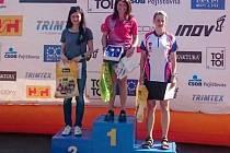 ANNA KOCHOVÁ (D16), mistryně České republiky pro rok 2016 ve sprintu.