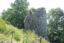 Nově otevřená vyhlídka hradu Kumburk