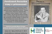 Jaký byl život Ferdinanda Peroutky? Zjistíte na přednášce.