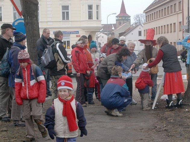 Tradiční pochod za Rumcajsem.
