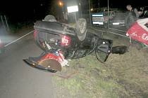 Nehoda na obchvatu Sobotky.