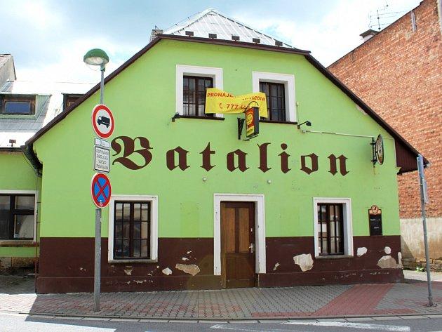 HOSPODA BATALION, místo setkávání hořických studentů, mladých umělců a hudebníků, je na prodej.