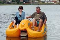 Polenský rybník Peklo. Ilustrační foto.