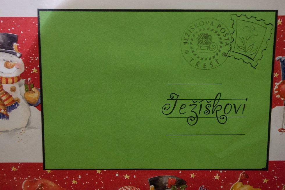 Ježíškova pošta v Třešti.