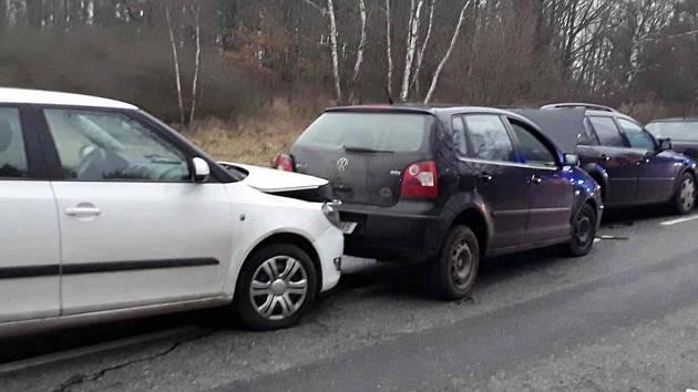 Nehoda ze středy 10. ledna.
