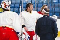 Milan Řehoř (uprostřed) dostane v létě možnost prokázat své kvality i v extraligové Mladé Boleslavi.