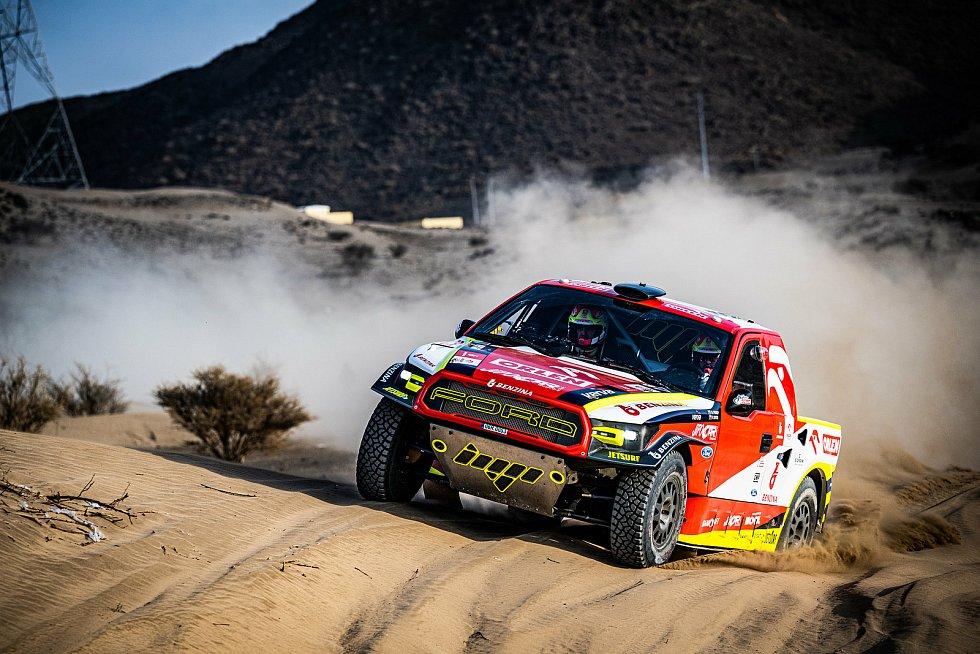 Martin Prokop ví, že musí zlepšit jízdu v dunách.