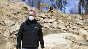 Kamenolom v Mrákotíně ožívá.