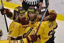Ve třetím utkání finálové série Chance ligy příliš důvodů k radosti hokejisté Dukly neměli. Kladnu podlehli 2:5.