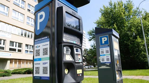 Parkovací automat. Ilustrační foto