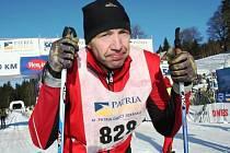 S výsledkem nedělního lyžařského dálkového běhu nebyl Jaroslav Vymazal úplně spokojen.