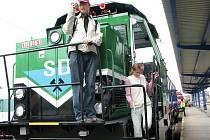 České dráhy připravily pro veřejnost v září v Jihlavě výstavu nové techniky a zdarma cestu do Havlíčkova Brodu a zpět. Nedávno následovala další jízda po tratích tří okresů.