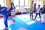 Soustředění kickboxerů v Jihlavě.