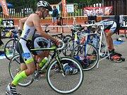 V jihlavském Pávově se konal triatlonový víkend. V sobotu byla na programu silniční varianta triatlonu, v neděli zase terénní.