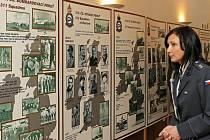 Výstava s názvem Českoslovenští letci v boji proti fašismu začala v pondělí na Zámečku v lesoparku Heulos