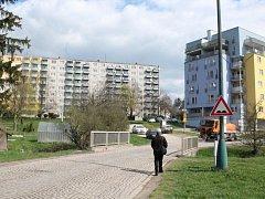 Telečská ulice v Jihlavě.