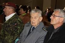 Odhalení se zúčastnil i válečný veterán a nositel Řádu bílého lva Imrich Gablech.