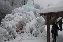 Zimní monumenty.