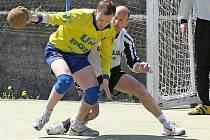 Druhý zápas sezony už házenkáři Autonotu dotáhli do vítězného konce. Doma porazili Krčín B.