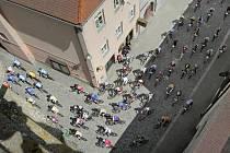 Jihlavská 24 mtb se usídlila i v historickém centru Jihlavy.