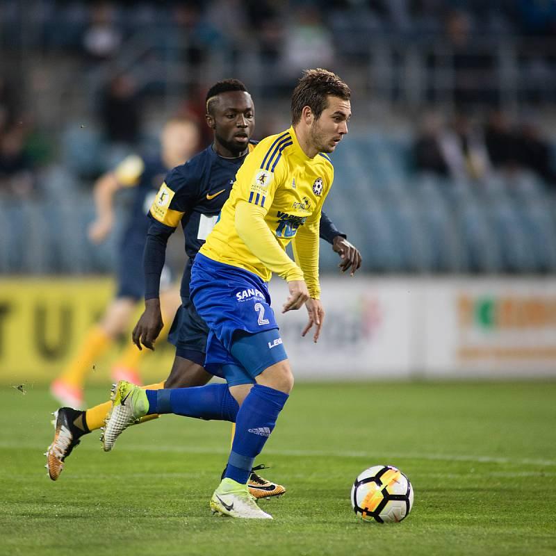 Stanislav Klobása v dresu FK Varnsdorf