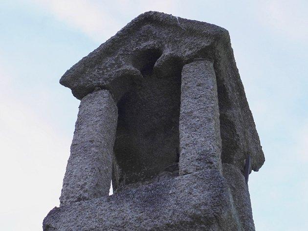 Kraj Vysočina má nejvíce památek v celé České republice. Teď k nim navíc přibyly další. Jedná se o boží muka u Nové Říše.