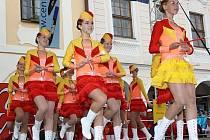 Mladé mažoretky z celé republiky soutěžily v sobotu v Telči. Vítězky každé kategorie si odnesly trofej - pohádkový střevíček.