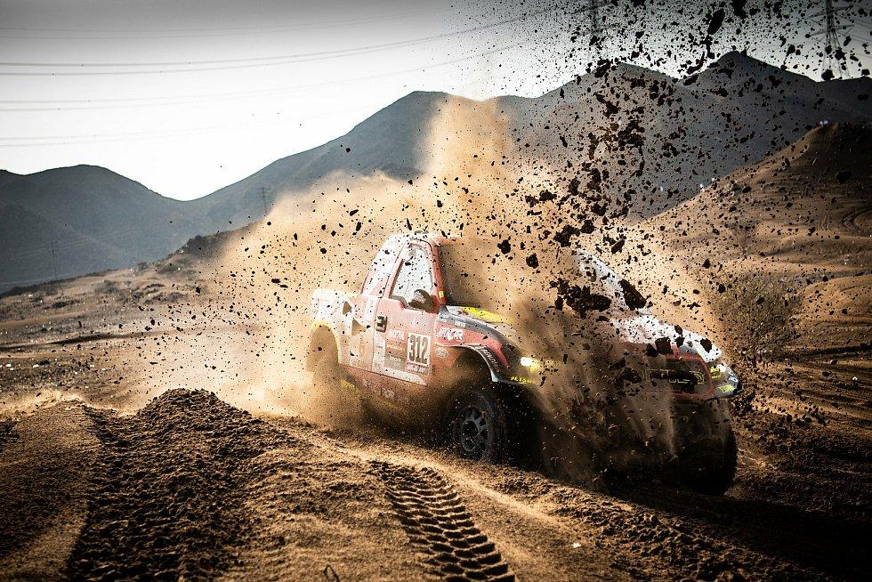 Martin Prokop ví, že musí zlepšit jízdu v měkkém písku a dunách.