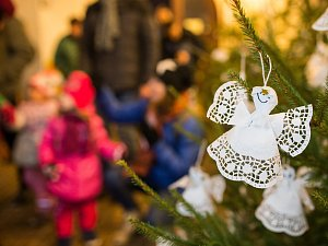 Rozsvícení vánočního stromu v Polné