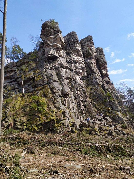 Výlet do Žďárských vrchů je vždy zážitkem. Čtyři palice jsou toho důkazem.