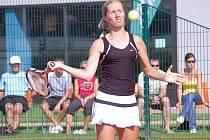 Tenistka jihlavského Spartaku Iveta Gerlová potvrdila, že ústeckoorlický Rieter Cup jí svědčí. S osmi získanými tituly (čtyři v singlu, čtyři v deblu) je nejúspěšnější tenistkou historie.