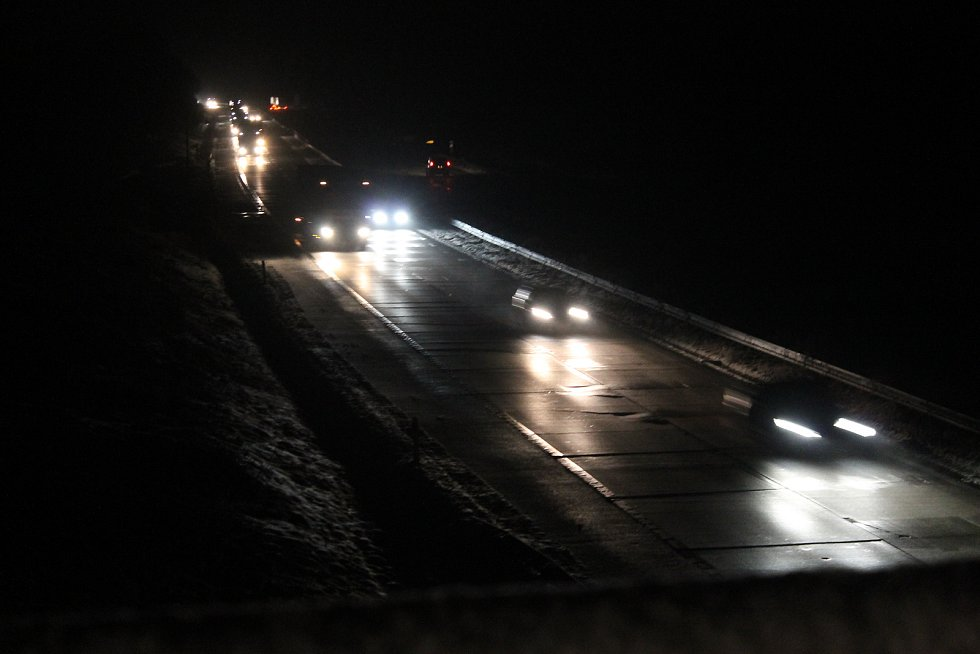 V noci z pátku na sobotu řidiči po dálnici mezi Velkým Beranovem a Měřínem neprojedou.