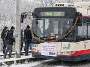 V Jihlavě zahájili provoz nové trolejbusové linky.