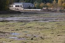 Odbahnění rybníku Kukle u Polné.