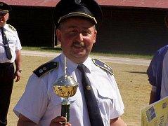 František Popelář je aktivním pavlovským hasičem v současnosti.