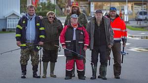 Dokumentární film Svéráz českého rybolovu prozradí, co dělají muži na rybách. V rolích herců tam vystoupili i rybáři z Jihlavy.