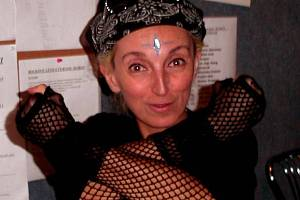 Jana Kratochvílová, která žije v Londýně, vystoupí dnes v Jihlavě.