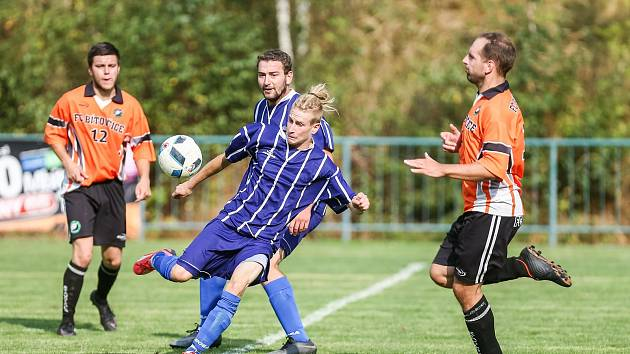 V okresním přeboru se hrály zápasy třetího kola.
