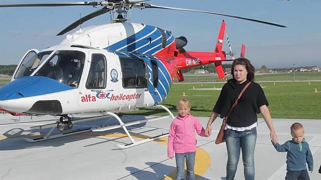 Konec. Vrtulníky společnosti Alfa Helicopter lidé v Kraji Vysočina od příštího roku neuvidí. Společnost se rozhodla, že skončí. Nahradit ji může v krajském městě například firma DSA.