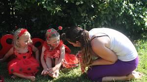 Děti z Jihlavska natáčí pohádku Zatoulaný věneček